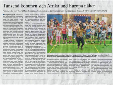 Tanzend kommen sich Afrika und Europa näher