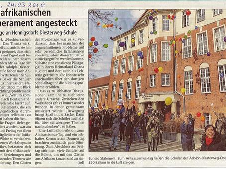 Wie aktiv werden für die Beseitigung von Fluchtursachen? Brandenburger Schülerinnen und Schüler ware