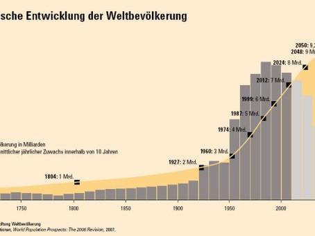 Mehr als die Hälfte der Weltbevölkerung lebt in den Städten!