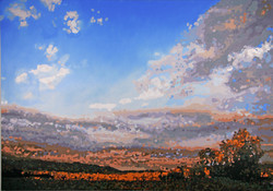 Pelham Hills, Evening - OC - 42 x 60