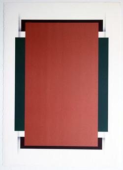 Le Rectangule Cuivre - 28x22
