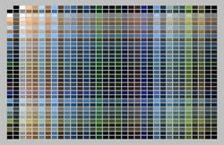 Sunderland Bridge Palette - 24x36
