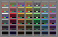 Spectrum in RGB - 20x30