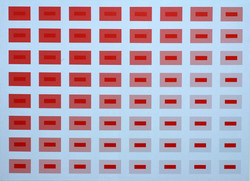 Red to Grey - A/C - 34.5x45.5