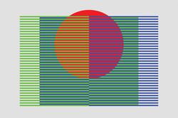 Spatial Mix - RGB, Red - 6x9