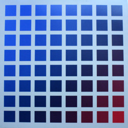 Blue Red Transposition - A/C - 66x66
