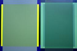 Transparent Green - A/C - 66x93