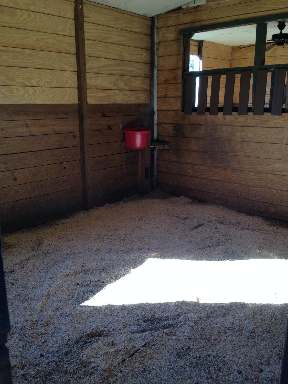 Large stalls