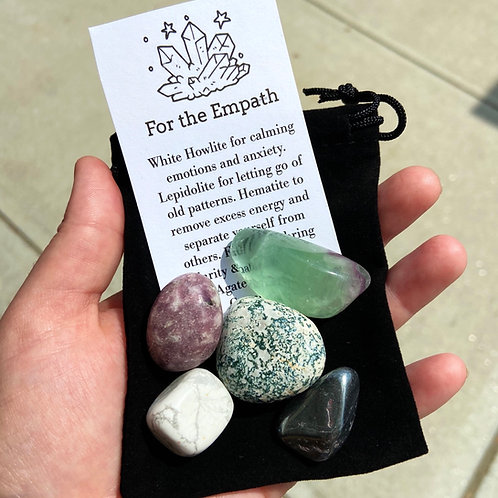 For the Empath Crystal Set