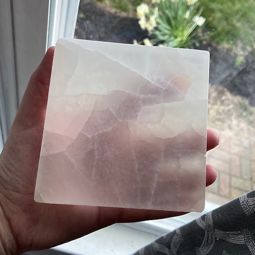 Selenite Charging Plate (4 inches)