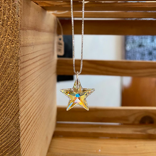Swarovski Crystal Star Necklace