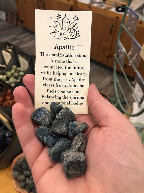 Apatite Tumble Stone