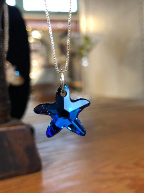 Swarovski Starfish Crystal Necklace