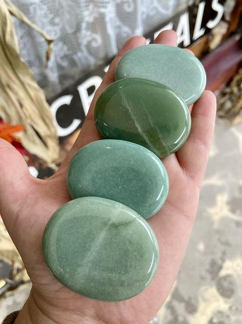 Green Adventurine Worry Stone