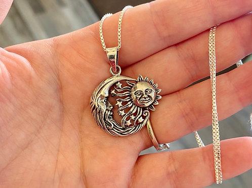 Sun & Moon Pendant