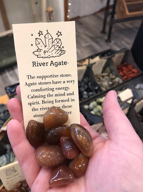 River Agate Tumble Stone