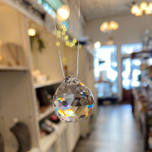 Small Hanging Crystal