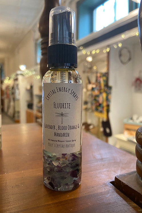 Fluorite Crystal Energy Spray
