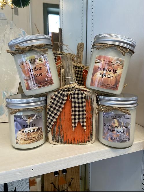 Medium Soy Candles (No Shipping)
