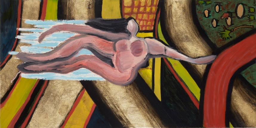 Gliding Woman (formerly Falling Woman),