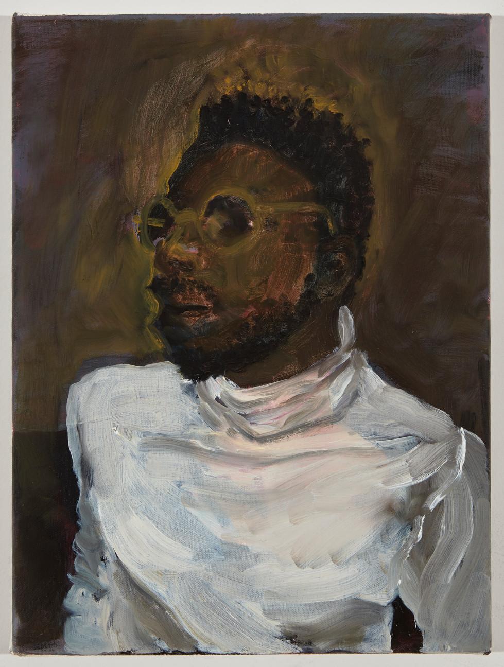 N, oil on canvas, 2020