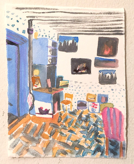 Nils-Erik's studio
