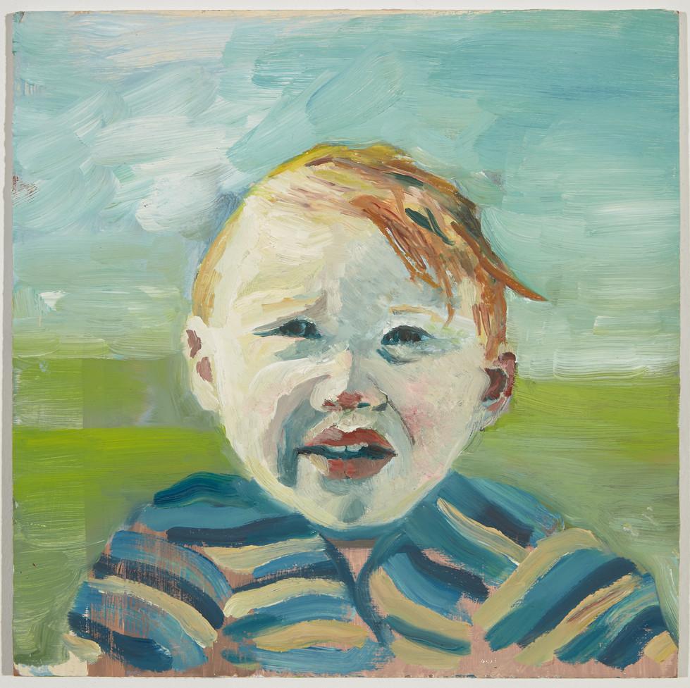 Untitled, oil on panel