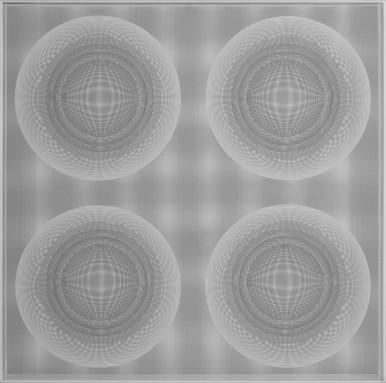 4 Esferas núcleo en evolución (White) -