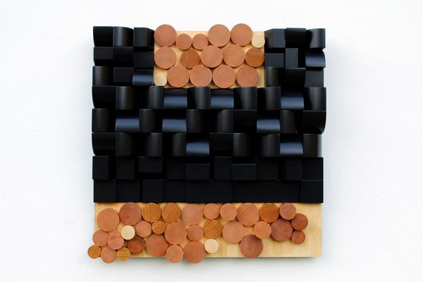 Relevo negro con madera - 2014