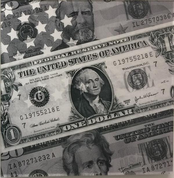 Dólares (blanco & negro) - 2010
