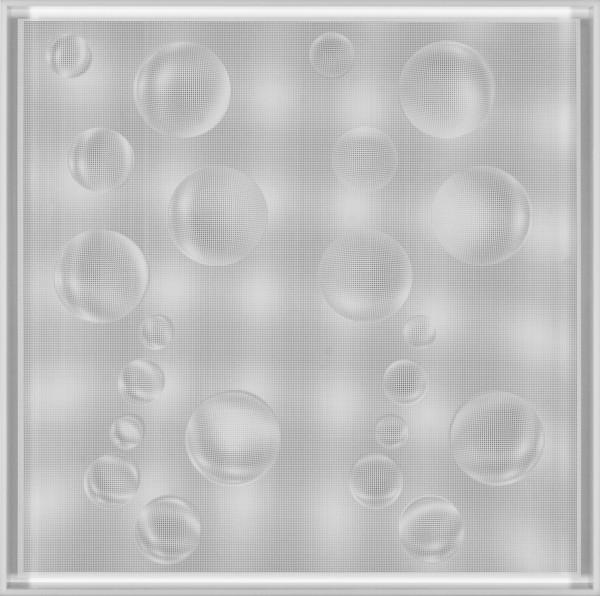 22 Esferas en onda (White) - 2015