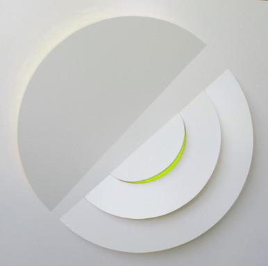 Serie SIGNOS # 6 Blanco/Limon - 2014
