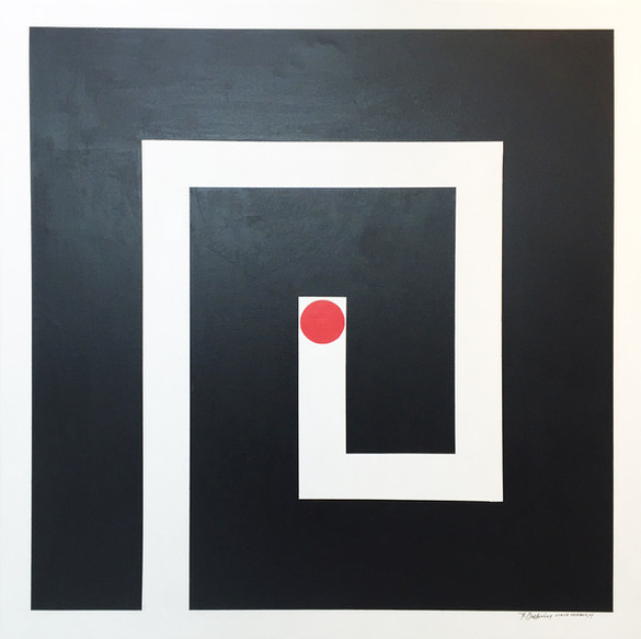 Geometric Contrast No. 9 - 2014