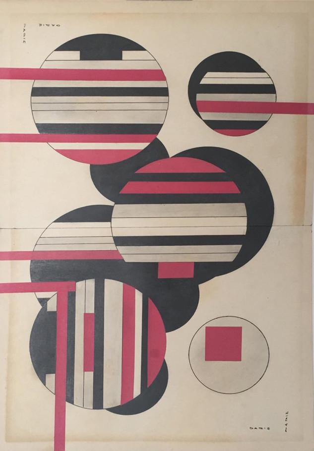 Esferas Cósmicas I & II (Díptico) - 1950