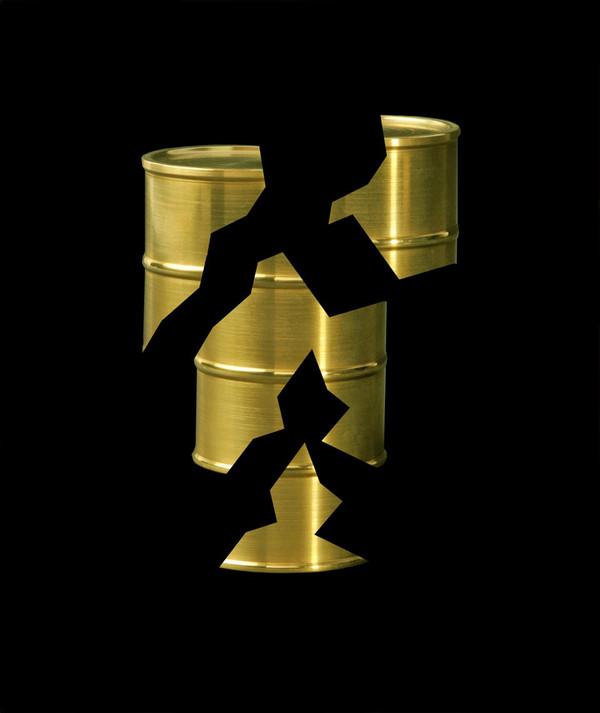 Dorado sobre negro 1 - 2015