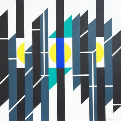 Geometric Contrast No. 10 - 2014