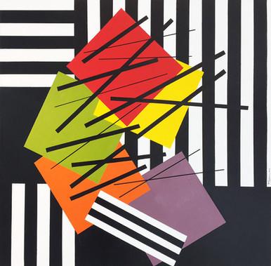 Geometric Contrast No. 16 - 2016