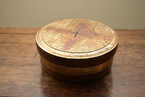 Round-shaped Teaware Storage Box