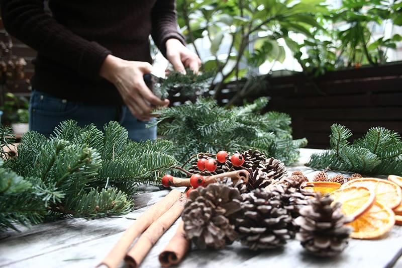 Handmade Christmas Tree Workshop