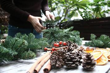 """Handmade Christmas Tree"" Workshop 手造聖誕樹工作坊"