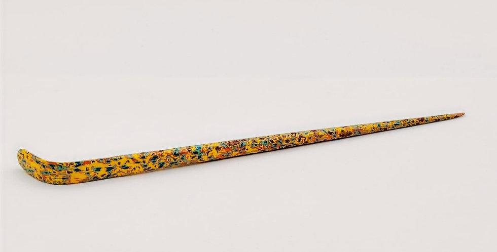 Lacquer Bamboo Xipi Tea Leaf Spoon