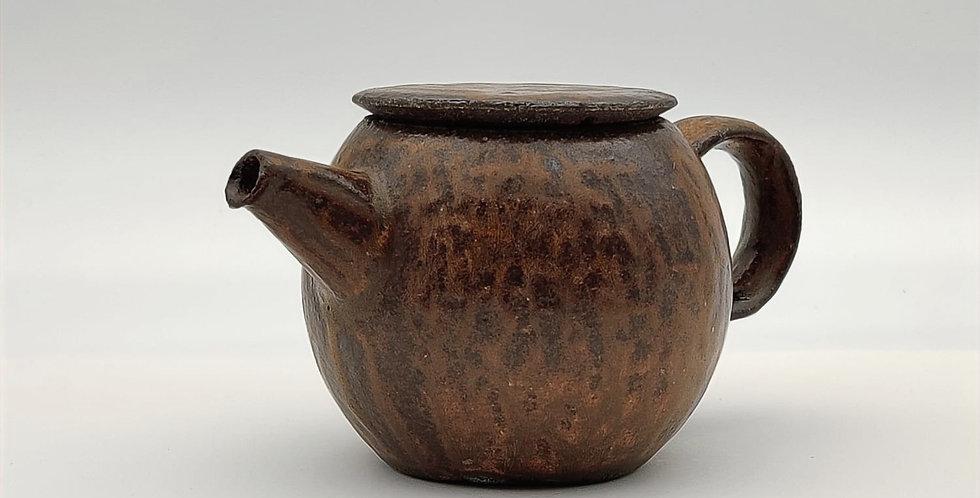 Stoneware Teapot - Rusty Brown (S)
