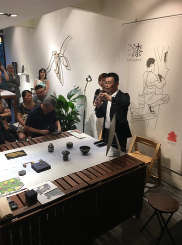 Meet the Masters: Takashi Wakamiya 漆藝雅敘: 若宮隆志