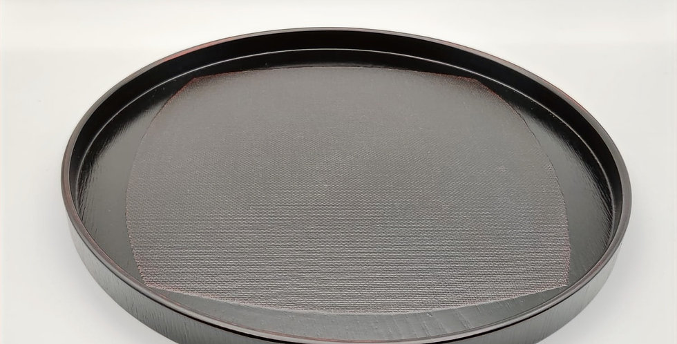 Lacquer Teaware Tray - Round