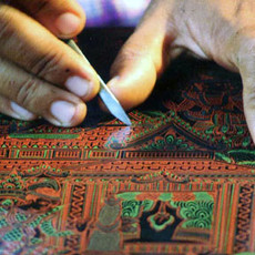 CRAFTING LIVE: Burmese Lacquer Making Live Demonstration by Bagan House & Experience Session