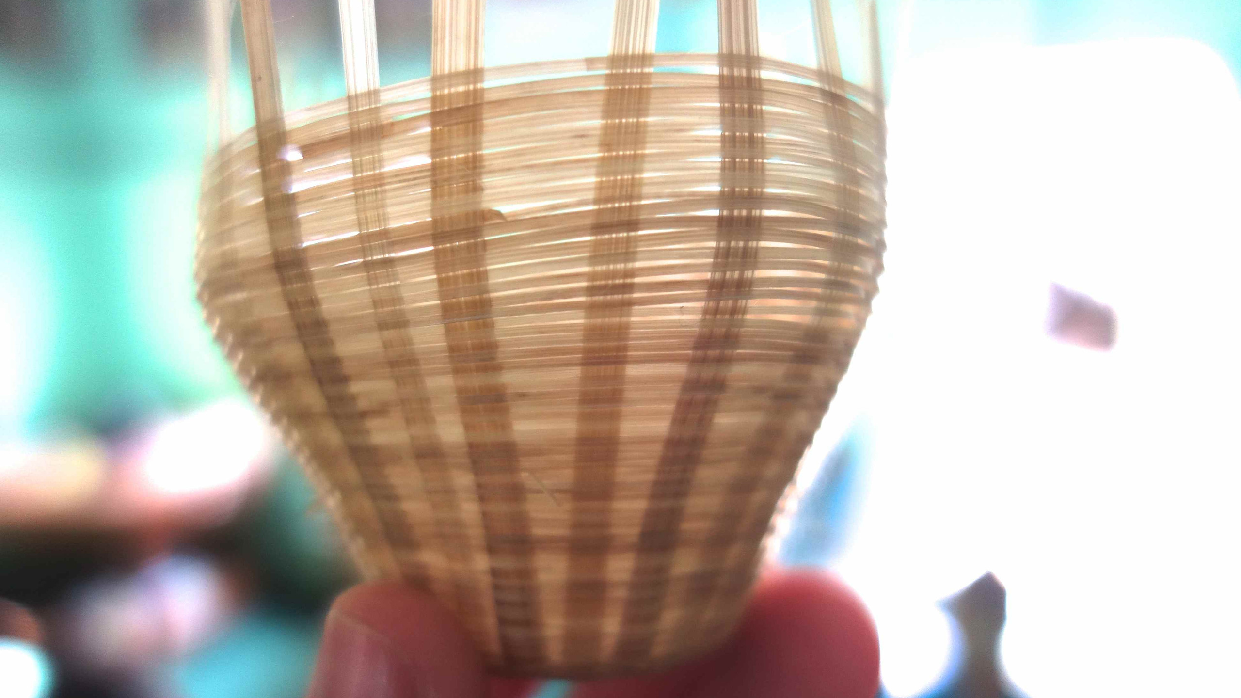 Bamboo Weaved Core Structure
