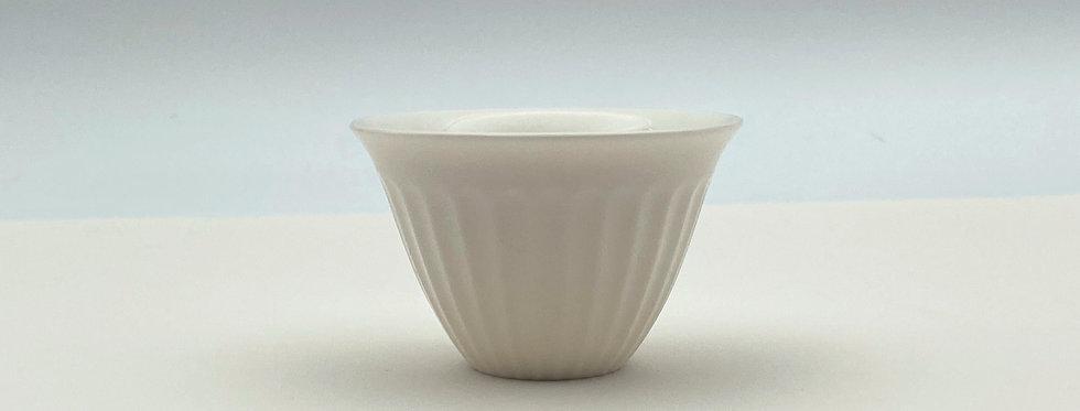Dehua Stripe-patterned Teacup