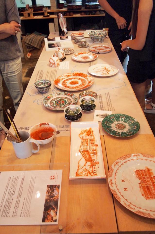Dixon Ngai's Handpainted Porcelain