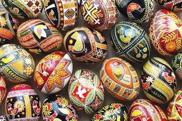 Pysanky Ukrainian Eggshell Painting