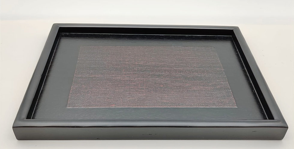 Lacquer Teaware Tray - Rectangle